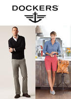 30% OFF with order over $100  @ Dockers