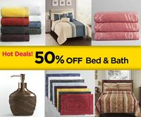 Up to 50% Off + extra 10% Off Bed and Bath sale @ Sears