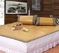 $55.99+Free Shipping Twin Size of Grain Bamboo & Rattan Combo Mat (Light or Dark Color)
