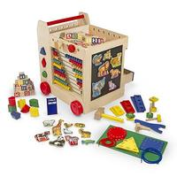 $39.99 Melissa and Doug Activity Cart 多用途玩具车