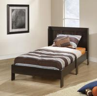 $99 Mainstays Twin Platform Bed with Headboard