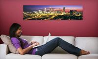 Larger Than Life 4-Foot Panoramic Wall Mural