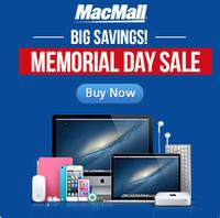 Up to $1099 Off Macmall Memorial day sale