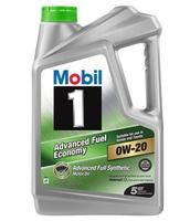 Mobil 1 Synthetic Motor Oil 5-Quart Jug