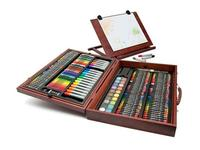 Art 101- 225 Piece Wooden Case Art Set