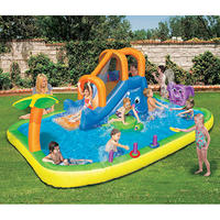$199 Banzai Animal Friends Splash Water Slide
