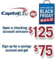 $125 bonus for new checking account capitalone360 online checking and saving account