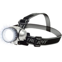 $4.99 GearXS New 7 LED Adjustable Head-Lamp with Pivoting Light-Head