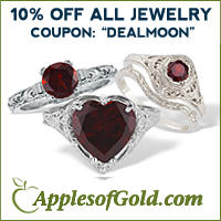 10% OFF store wide  @ ApplesofGold.com