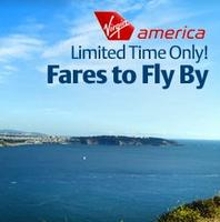 From $59 each way Virgin America U.S. Cities & Mexico Flights