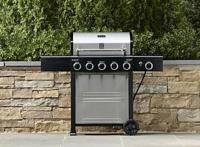 $219.97 Kenmore 5-Burner Gas Grill w/ Side Burner+ $30 credit