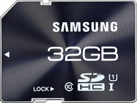$19.99 Samsung Electronics 32GB Pro Extreme Speed (UHS-1) Class 10 SDHC Memory Card