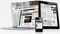$12 for The Wall Street Journal 12 Weeks Subscription (New Customer Only)