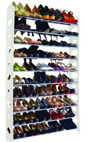 $24.99 50-Pair Shoe Rack in White@BeyondTheRack