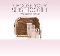 New Holiday Sets Available+ Free Gift Set with any Two Shiseido purchase @ Nordstrom