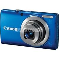 $44.99 Refurb Canon PowerShot A4000 IS 16.0-Megapixel Digital Camera + Free 8GB SD Card and Case