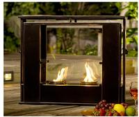 $94.44 Wesley Indoor/Outdoor Portable Fireplace