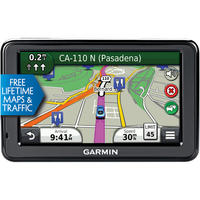 "$69.99 Garmin nüvi 2455LMT 4.3"" GPS with Lifetime Maps & Traffic (Manufacturer Refurbished)."