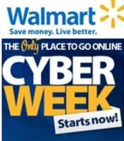 Start Now! Walmart 2013 Cyber Week Sale