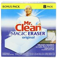 $6.15 Mr. Clean Magic Eraser Cleaner Cleaning Pads 神奇清洁海绵 (8 片装)