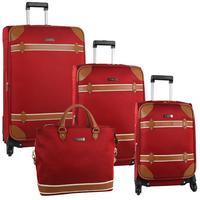 $236.77 Anne Klein Vintage Edition 4 Piece Spinner Luggage Set (Three Colors Available)