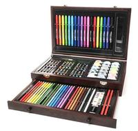 $22.99 ART 101 Budding Artist 93-Piece Set with Wooden Case