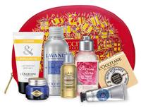 Free $10 Gift Card + GLITTERING FAVORITES COLLECTION for $20 with Any $45 Purchase @ L'Occitane