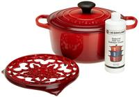 $169.99 Le Creuset Signature Enameled Cast-Iron 4-1/2-Quart Round Dutch Oven