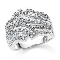 $99 1.00 Carat Diamond Fashion Ring in Sterling Silver