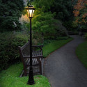 "$111.99  Nature Power Essex 92"" Solar Powered Lamp Post"