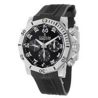 $2995 CORUM Men's Admiral's Cup Seafender 46 Chrono Dive Watch 753-451-04-0371-AN22