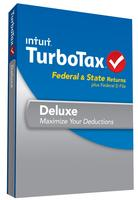 $39.99 TurboTax Deluxe Fed, Efile and State 2013 with Refund Bonus Offer(PC/Mac)