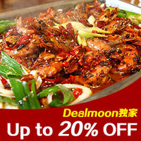 Up to 20% Off Restaurant Coupon for Chinese New Year