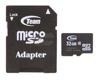 $14.99 Team 32GB Micro SDHC Flash Card Model TG032G0MC24A