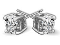 Free 2.5 Carat Swarovski Element Studs with Any Purchase @ Jewelry.com