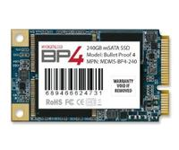 $122 MyDigitalSSD 50mm Bullet Proof 4 BP4 50mm mSATA Solid State Drive SSD SATA III 6G (240GB)