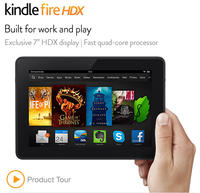 Kindle Fire HD and HDX @ Amazon.com