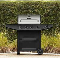 $165.99 BBQ Pro 4 Burner Gas Grill with Stainless Steel Lid model no. PG-40403SOL