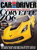 $4.5 Car and Driver Magazine 1 Year Subscription