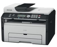 $49.99 Ricoh Aficio SP 204SN Monochrome Multifunction Laser Printer with Color Photo Scanner and Copier