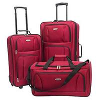 $39.99 Concourse Southfield 3 Piece Luggage Set