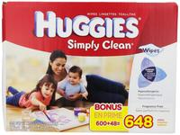 $10.37 Huggies Simply Clean Fragrance Free Baby Wipes Refill