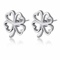 $5.99 Lucky Shamrock Earrings @ pinkEpromise