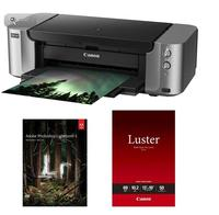$29.99 (SOLD OUT)Canon PIXMA PRO-100 Professional Inkjet Printer + Adobe Photoshop Lightroom 5 + Luster Photo Paper