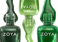 Get 1 Green Free When you buy any 2 Nail Polishes @ zoya