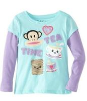 $12.31 Paul Frank Girls 2-6X Little Tea Time Slider