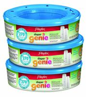 $17.09 Playtex Diaper Genie Refill, 270 count (3盒装)
