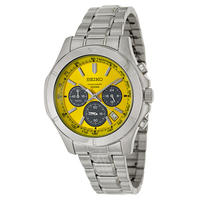 $79 SEIKO Men's Chronograph Watch SSB115