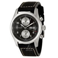 $648 Hamilton Men's Khaki Field Chrono Auto Watch H71566733