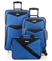 $49.99 Travel Select Bay Front 3 Piece Spinner Luggage Set